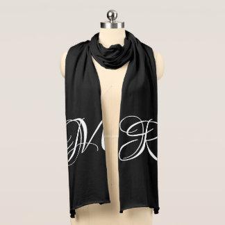 Ihr Initialen-elegantes mit Monogramm Schal