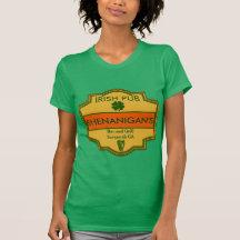 Ihr irisches Kneipen-T-Stück besonders angefertigt T Shirt