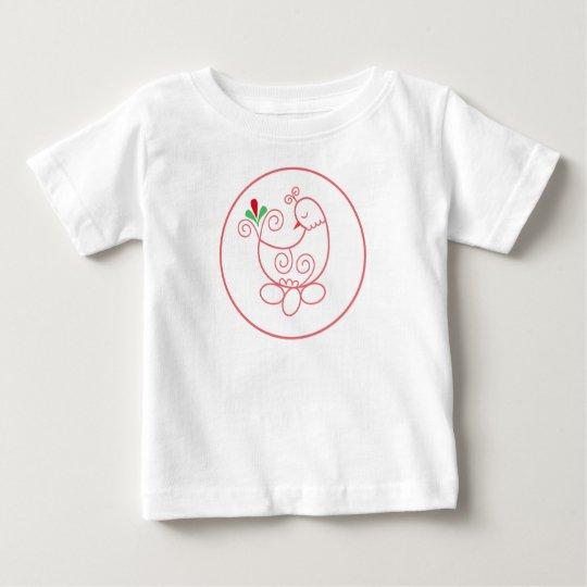 Ihr kundenspezifischer Baby-Geldstrafe-Jersey-T - Baby T-shirt