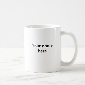 Ihr Name hier Kaffeetasse