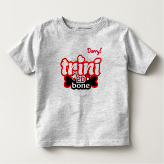 (Ihr Name) Trini 2D Knochen Kleinkind T-shirt