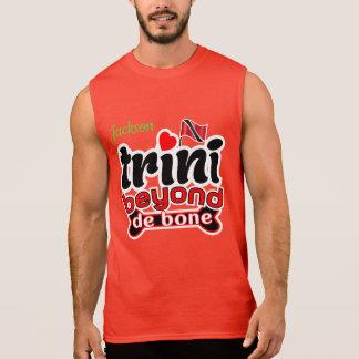 """(Ihr Name) Trini - """"über"""" de bone hinaus Ärmelloses Shirt"""