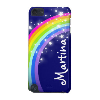 """""""Ihr Namens"""" (Regenbogen des Buchstaben 7) auf iPod Touch 5G Hülle"""