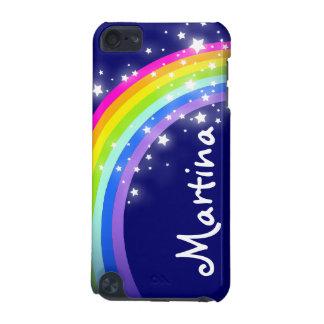 """""""Ihr Namens"""" (Regenbogen des Buchstaben 7) auf Mar iPod Touch 5G Hülle"""