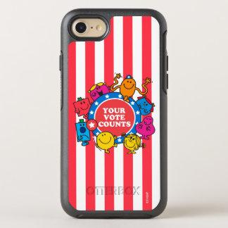 Ihre Abstimmungs-Zählungen! 2 OtterBox Symmetry iPhone 8/7 Hülle