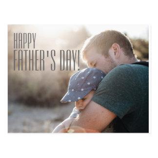 Ihre der Vatertags-Karte Foto-glückliche Postkarte