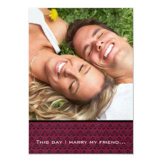 Ihre Foto-Hochzeit laden mich heiraten meine 12,7 X 17,8 Cm Einladungskarte