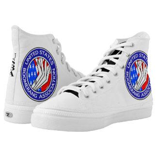 Ihre kundenspezifischen Zipz hohen Spitzenschuhe, Hoch-geschnittene Sneaker