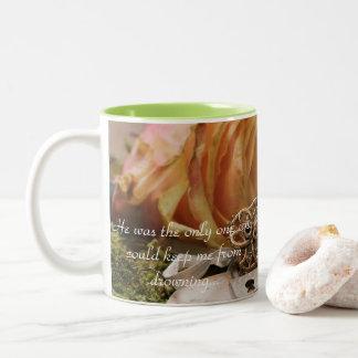 Ihre letzte Hoffnungs-Kaffee-Tasse Zweifarbige Tasse
