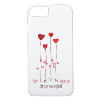 Ihre Liebe behält auf dem Anheben ich iphone Fall iPhone 7 Hülle