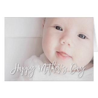Ihre Liebe der Foto-Mutter Tages Grußkarte