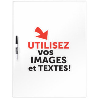 Ihre online Konzeptionen auf französisch drucken Trockenlöschtafel