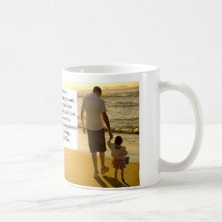Ihre Tochter am Vatertag Tasse