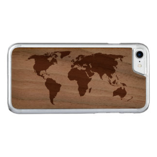 Ihre Welt - Carved iPhone 8/7 Hülle