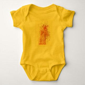 II zerzaust Baby Strampler