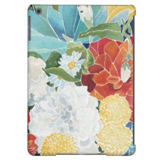 III floral de minuit Coque iPad Air