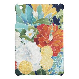 III floral de minuit Coque iPad Mini