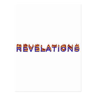 Ikone der Enthüllung (Feuer) Postkarte