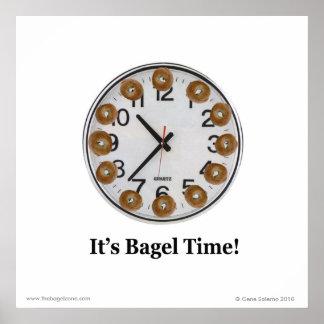 Il est temps de bagel ! affiche