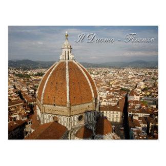 ILDuomo - Firenze Postkarte