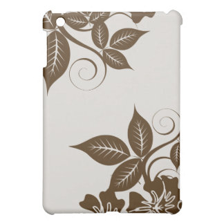 Île de chocolat florale coque iPad mini