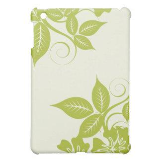 Île de vert de chaux florale coque pour iPad mini