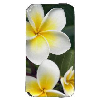 Îles Cook de fleur de Frangipani Coque-portefeuille iPhone 6 Incipio Watson™