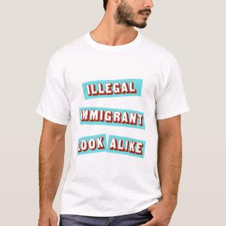 Illegaler Immigrant identisch T-Shirt