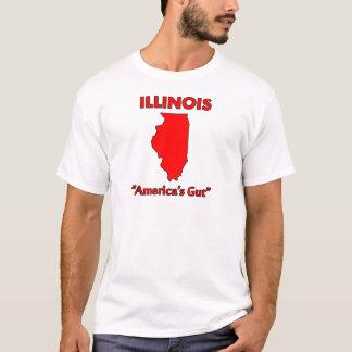 Illinois- - Amerikadarm T-Shirt