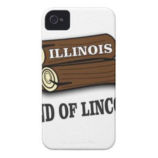 Illinois-Klotz von Lincoln iPhone 4 Cover
