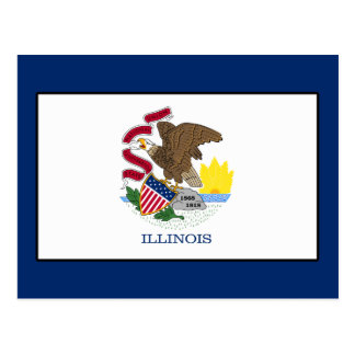 Illinois Postkarte