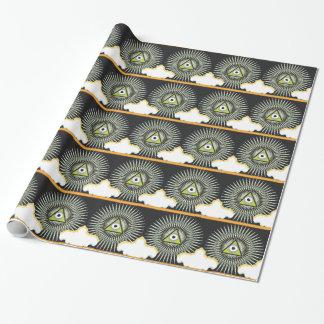 Illuminati alle sehende Augen-JETZT neue Geschenkpapier