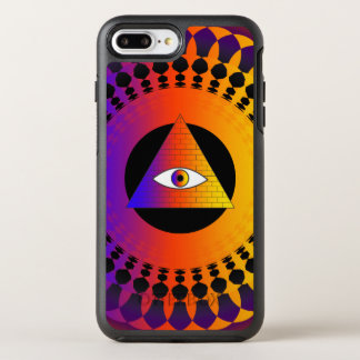 Illuminati Augenalternative OtterBox Symmetry iPhone 8 Plus/7 Plus Hülle