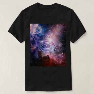 Illuminati Nebelfleck T-Shirt