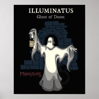 ILLUMINATUS, Geist des Schicksals. (Monster-Reihe) Poster