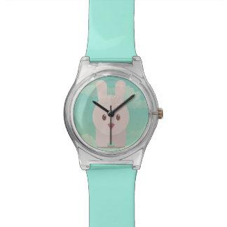 Illustration animale mignonne d'art de crèche de montres bracelet