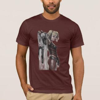 Illustration Batmans Arkham Stadt-| Harley Quinn T-Shirt