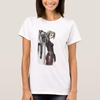 Illustration Batmans Arkham Stadt-  Harley Quinn T-Shirt