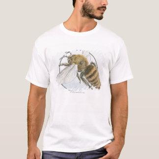 Illustration der europäischen Honig-Biene T-Shirt