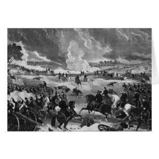 Illustration der Schlacht von Gettysburg Karte