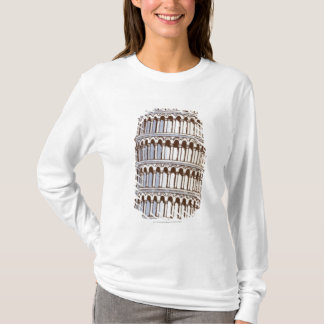 Illustration des Turms von Pisa T-Shirt