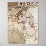 Illustration pour un conte de fées affiche