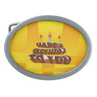 Illustrations-alles- Gute zum Geburtstagkuchen mit Ovale Gürtelschnallen