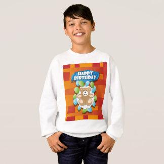 Illustrations-alles- Gute zum GeburtstagTeddybär Sweatshirt