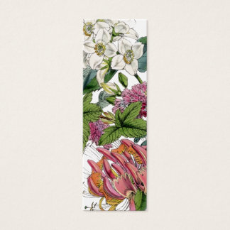 Illustrations botaniques vintages mini carte de visite