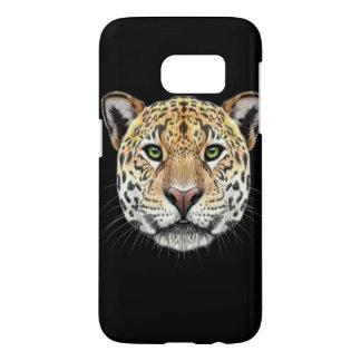 Illustriertes Porträt des Jaguars