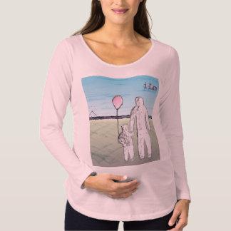 ILM langer Hülsen-MutterschaftsT - Shirt