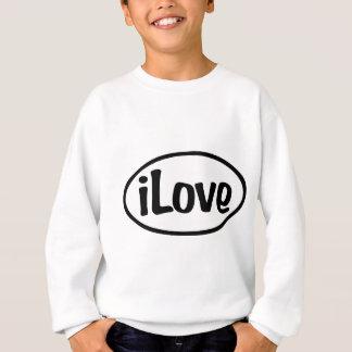 iLove Oval Sweatshirt