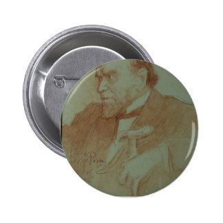 Ilya Repin : Portrait d'académicien A.F. Koni Badges