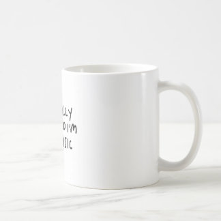 Im Allgemeinen bin ich ich bin nicht grundlegende Kaffeetasse